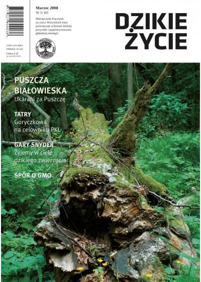 Dzikie Życie 2008, nr 3 (165), marzec