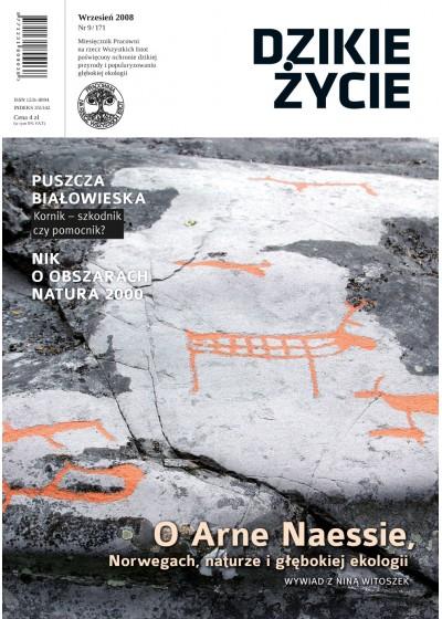 Dzikie Życie 2008, nr 9 (171), wrzesień