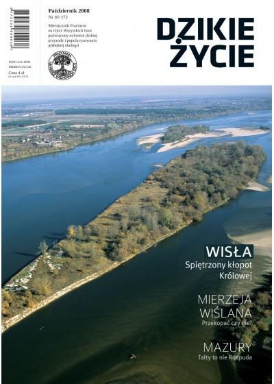 Dzikie Życie 2008, nr 10 (172), październik