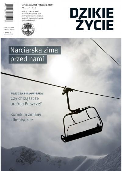 Dzikie Życie 2008-2009, nr 12-1 (174-175), grudzień-styczeń