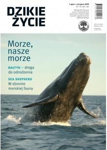Dzikie Życie 2009, nr 7-8 (181-182), lipiec-sierpień