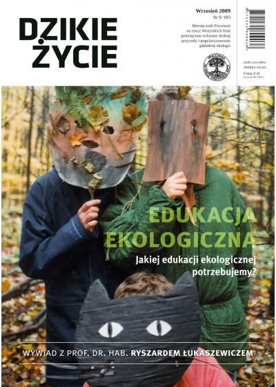 Dzikie Życie 2009, nr 9 (183), wrzesień
