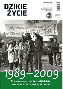 Dzikie Życie 2009, nr 10 (184), październik