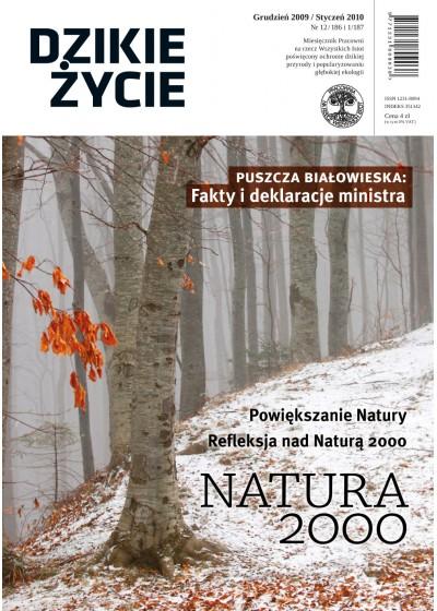 Dzikie Życie 2009-2010, nr 12-1 (186-187), grudzień-styczeń