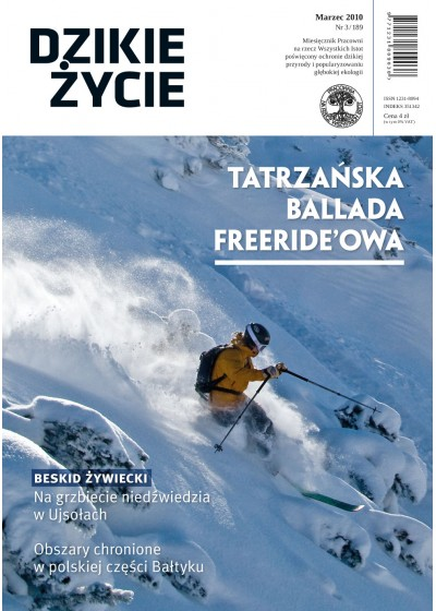 Dzikie Życie 2010, nr 3 (189), marzec