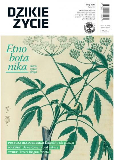 Dzikie Życie 2010, nr 5 (191), maj