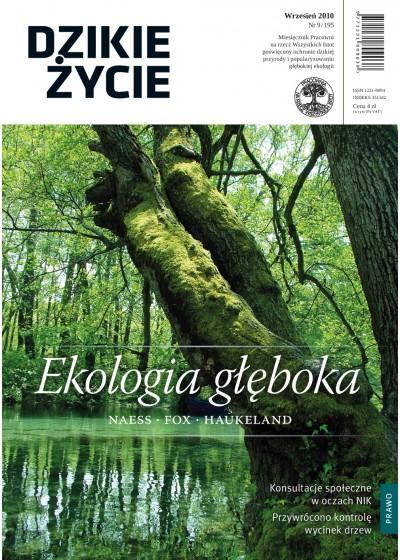 Dzikie Życie 2010, nr 9 (195), wrzesień