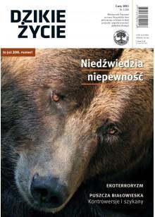 Dzikie Życie 2011, nr 2 (200), luty