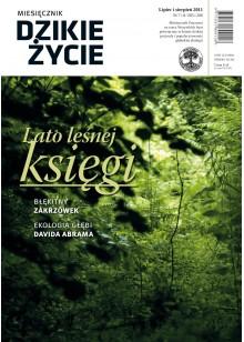 Dzikie Życie 2011, nr 7-8 (205-206), lipiec-sierpień