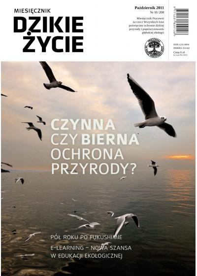 Dzikie Życie 2011, nr 10 (208), październik