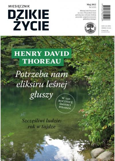 Dzikie Życie 2012, nr 5 (215), maj