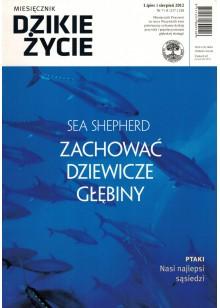 Dzikie Życie 2012, nr 7-8 (217-218), lipiec-sierpień
