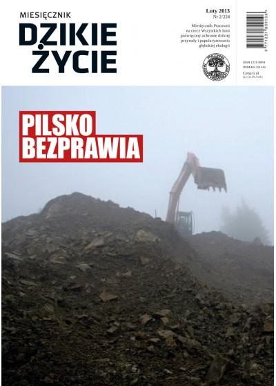 Dzikie Życie 2013, nr 2 (224), luty