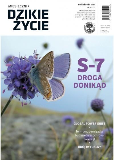 Dzikie Życie 2013, nr 10 (232), październik