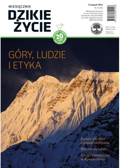 Dzikie Życie 2014, nr 11 (245), listopad :: mobi