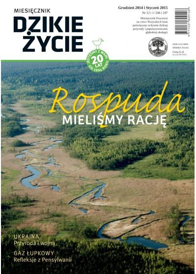 Dzikie Życie 2014-2015, nr 12-1 (246-247), grudzień-styczeń :: mobi