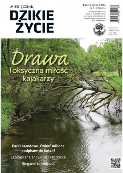 Dzikie Życie 2015, nr 7-8 (253-254), lipiec-sierpień :: mobi