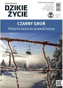 Dzikie Życie 2015-2016, nr 12-1 (258-259), grudzień-styczeń