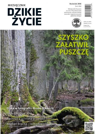 Dzikie Życie 2016, nr 4 (264), kwiecień :: mobi