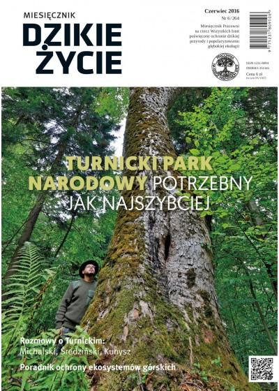 Dzikie Życie 2016, nr 6 (264), czerwiec :: epub