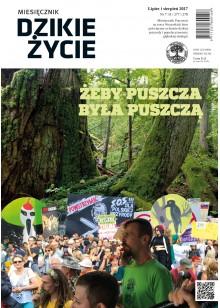 Dzikie Życie 2017, nr 7-8 (277-278) lipiec-sierpień