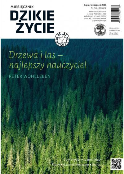 Dzikie Życie 2018, nr 7-8 (289-290) lipiec-sierpień