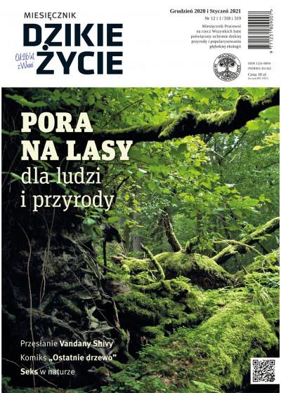 Dzikie Życie 2020-2021, nr 12-1 (318-319) grudzień-styczeń :: epub