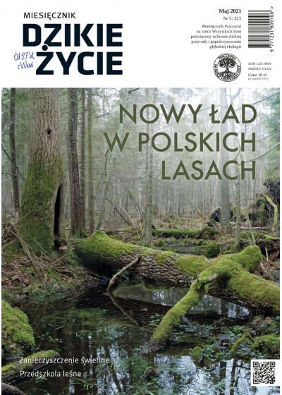 Dzikie Życie 2021, nr 5 (323) maj :: mobi
