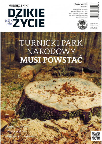 Dzikie Życie 2021, nr 6 (324) czerwiec :: mobi
