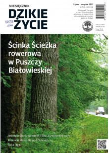 Dzikie Życie 2021, nr 7-8 (325-326) lipiec-sierpień