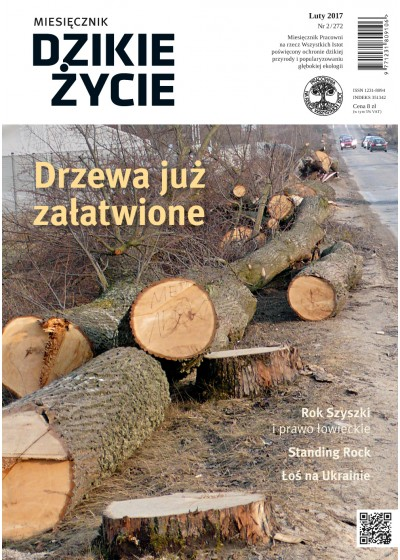 Dzikie Życie 2017, nr 2 (272) luty :: epub